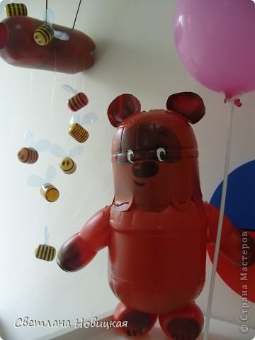 Сделать медведя своими руками из бутылки 30