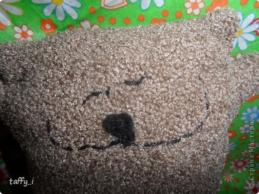 Котик-подушечка. Сшила его для папы. Только котейка получился совсем маленьким. :) Внутри, как всегда, сердечко вложено. :) фото 2