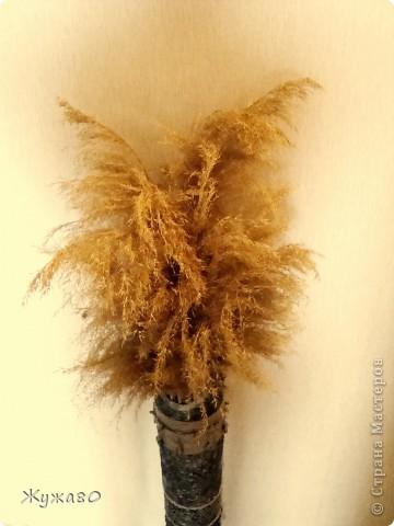 Ваза,навеянная чудными работами Тани Сорокиной. За основу взята труба из-под линолеума. фото 5