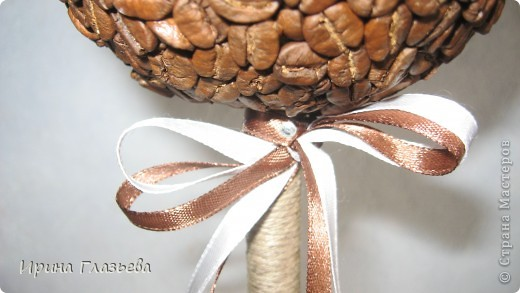 Это деревце я делала в подарок сестре на день рожденья. Она очень любит кофе. На просторах Страны мастеров много подобных деревьев, смотрела, вдохновлялась и вот что у меня из этого вышло... фото 3