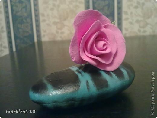 Букетик из японской глины. фото 8