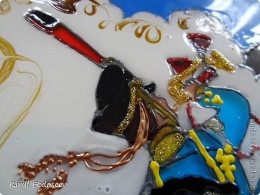 Здравствуй, СТРАНА МАСТЕРОВ! 2012 год отмечает 200 лет Бородинскому сражению.  Исторически так сложилось, что 26 августа 1812 года состоялось одно из самых крупнейших сражений за всю Отечественную войну. Известно, что оно продолжалось 12 часов и считается самым кровопролитным однодневным сражением в истории.  Свою работу мне хочется посвятить памяти героям, павшим  и выжившим в тот тяжелый для России день.  И особенно хочется больше узнать о гусарах:  смелых наездниках, одетых в кивера, приталенные доломаны с лихо накинутым на левое плечо ментиком. Также, моя   работа выполнена с целью изучения гусарского мундира. фото 6