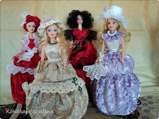 Вот и моя Кармэн. Очень хотелось сделать такую куколку, вот только блондинка для этой роли не подходила.(а все куклы мне попадались блондинки). Пришлось самой делать волосы. Но об этом чуть позже. фото 12