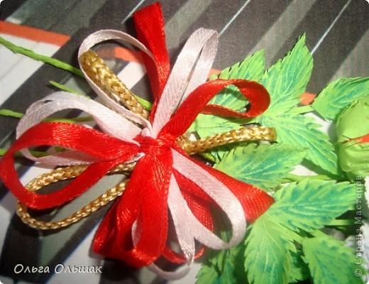 """Последний """"музыкальный"""" подарок готов!На этот раз с красными розами. фото 5"""