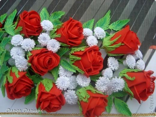 """Последний """"музыкальный"""" подарок готов!На этот раз с красными розами. фото 4"""