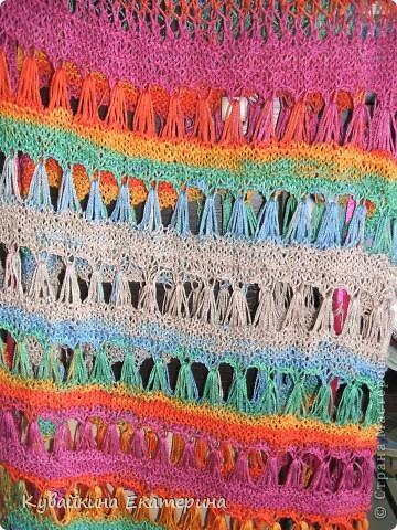 Связала новый свитерок для себя, рукав 3/4))) Нитки 100% акрил, спицы 3.5 фото 6