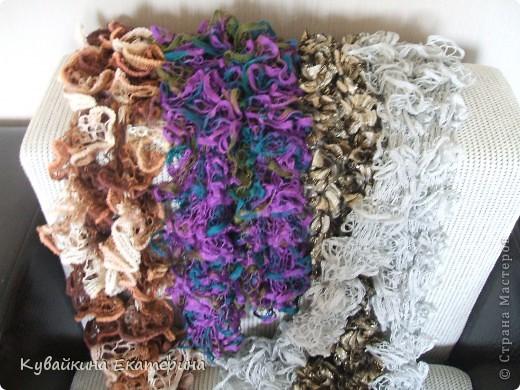 Связала новый свитерок для себя, рукав 3/4))) Нитки 100% акрил, спицы 3.5 фото 4