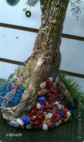 Моё первое дерево,ствол из глины фото 6