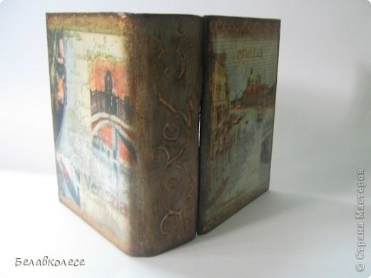 """Старая-старая книга о путешествиях..Берем лобзик и МДФ-выпиливаем заготовку,идем в магазин ,покупаем крепление и думаем...шурупчики торчат на """"корешке книги"""".. фото 7"""