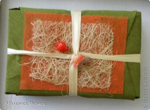 Упаковка для подарка из гофрированной бумаги своими руками