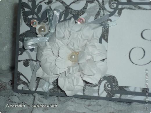 Свадебная открытка. Размер 15*20. Надпись от Марины Абрамовой. Комплект сделан на заказ. фото 7