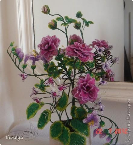 Бисероплетение цветы из бисера бисер