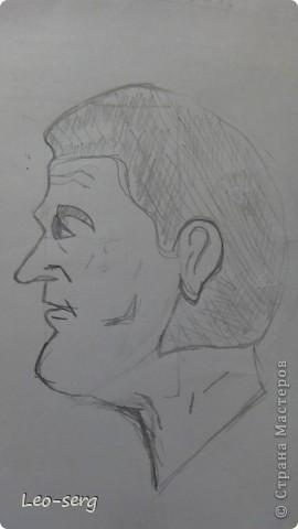 Учусь рисовать профиль