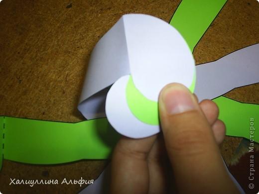 """Данная модель называется """"Ten-Sided Yin-Yang Globe"""" Автором ее является американец Chapman-Bell Philip (Филип Чапман-Бэлл) Она выглядит очень необыкновенно. Мастер класс к ней в СМ я не нашла, поэтому и решила сделать его сама. фото 17"""