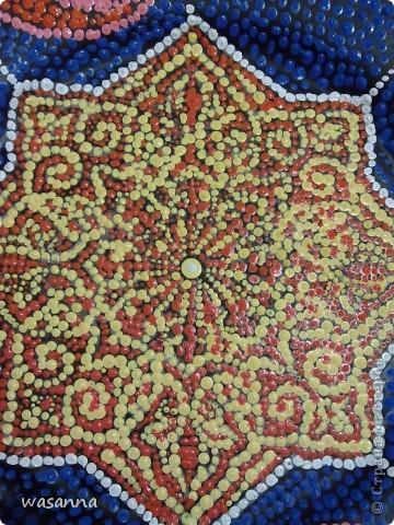 Восточные мотивы (декоративная тарелка-панно) фото 4