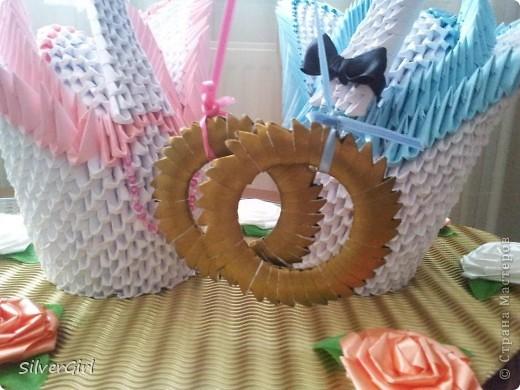 Лебеди - жених и невеста фото 2