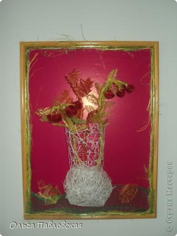 Картины из сизаля. фото 2