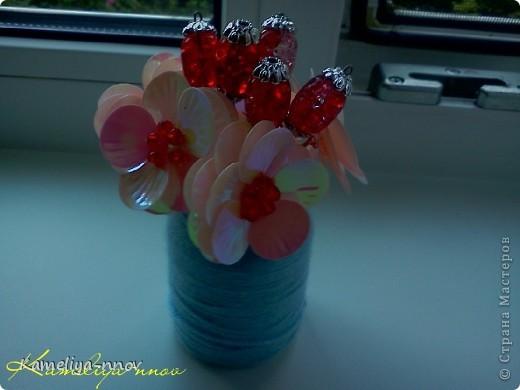 "Букетик ""Красная ягодка"" фото 3"