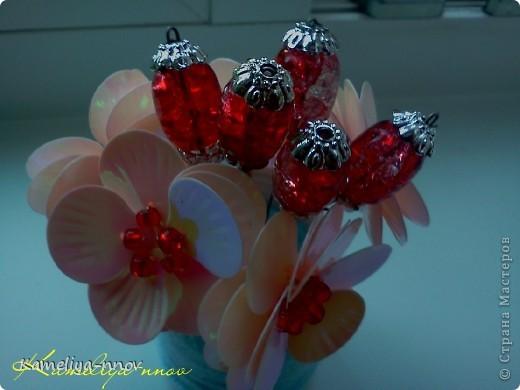 "Букетик ""Красная ягодка"" фото 2"