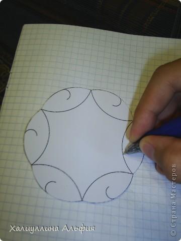 Автором этого изделия является уже однажды упомянутый в моих публикациях Филип Чапмэн Белл. Эта модель привлекла мое внимание с первого взгляда: она очень проста в сборке, не требует ни капли клея, никаких свернедоступных материалов. Вам понадобятся только бумага (картон), ножницы и карандаш. И так, приступим. фото 5
