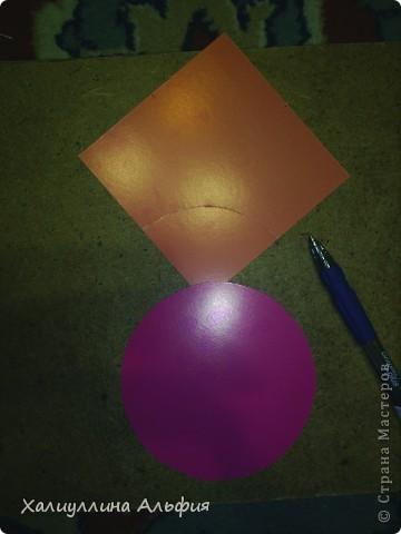 """Нашла интересный шарик из бумаги. Называется он  """"Jump"""" , а придумал его Hans-Werner Guth. Посмотрела в стране мастеров - оказалось, что мастер-класса к такому изделию нет (по крайней мере, мне на глаза не попадалось). Решила сделать МК сама. Качество фотографий, увы, не блещет. Свой хороший фотоаппарат я разбила на отдыхе этим летом (на счастье - пусть будет так). Все снимки делались ужасной старой камерой. Но я думаю, все будет понятно. Если что - спрашивайте хоть по каждому пункту отдельно) фото 7"""