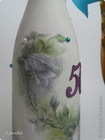 Бутылочка на Юбилей фото 4