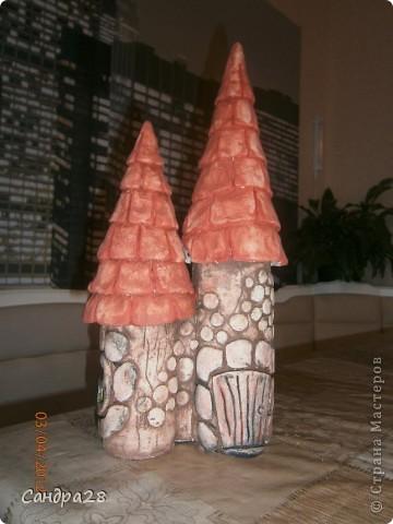 замок из соленого теста