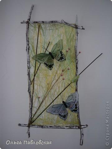Картины из сизаля. фото 1