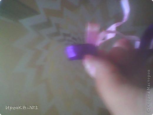 возьмём 2 ленты по метру, желательно разных цветов. фото 6
