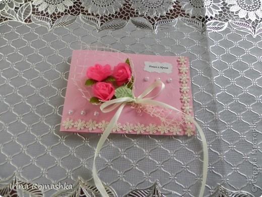 Приглашение на свадьбу ручной работы. фото 8