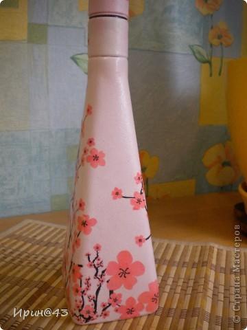 Эта бутылочка долго ждала своей одежки. фото 2