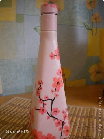 Эта бутылочка долго ждала своей одежки. фото 3
