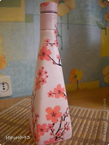 Эта бутылочка долго ждала своей одежки. фото 4