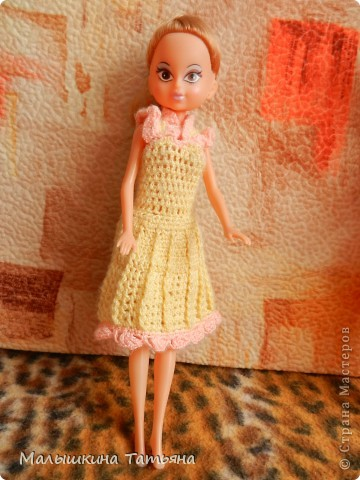 Вязание для кукол Барби. фото 6