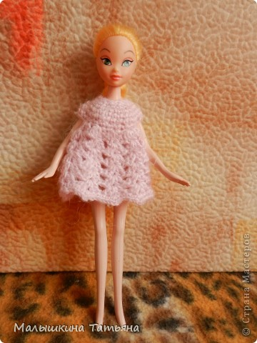 Вязание для кукол Барби. фото 1