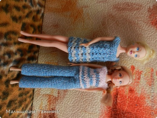 Вязание для кукол Барби. фото 5