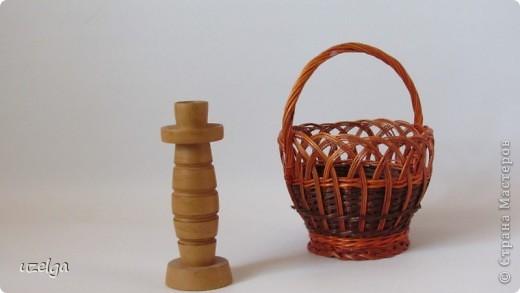 подсвечник, корзинка для орех фото 1