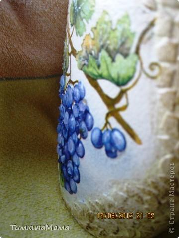 Бутылочка под домашнее вино для свекрови сестры. фото 2