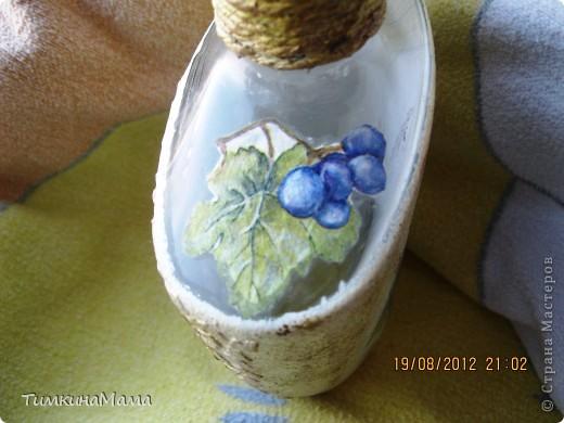 Бутылочка под домашнее вино для свекрови сестры. фото 3