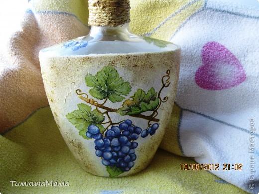 Бутылочка под домашнее вино для свекрови сестры. фото 4