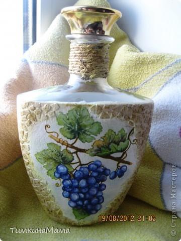 Бутылочка под домашнее вино для свекрови сестры. фото 5
