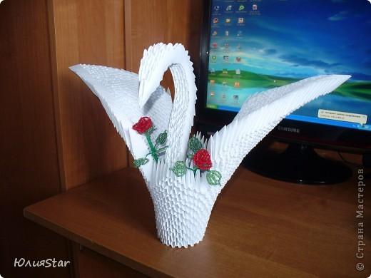 проба пера в оригами. Хотела дочь приобщить(как бы и задумывалось для того, чтобы ребенка оторвать от телика и занять), и в итоге делала сама. Очень увлекательное занятие. фото 1