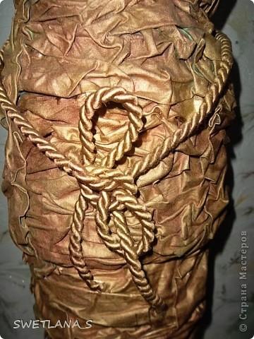 Вот так смотрится моя новая напольная ваза и картина с цветами из кожи фото 9