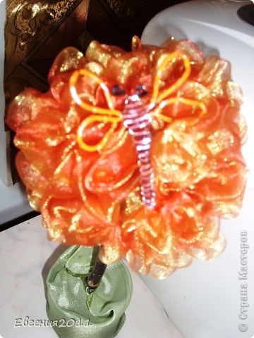 дерево из роз. ткань фото 2