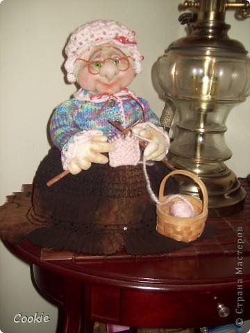 Знакомьтесь, моя новая бабуля. фото 1