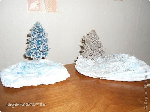 мои елочки...  из стекляруса и бисера фото 1