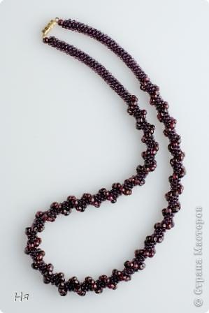 обычный длинный жгут, плотное мозаичное плетение фото 3