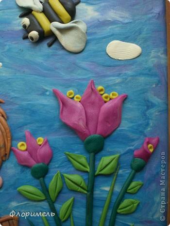 """Вот и """"созрела"""" новая картина из пластилина, с которой я хочу поучаствовать на """"Яблочном конкурсе"""" в СМ http://stranamasterov.ru/node/393249. фото 6"""