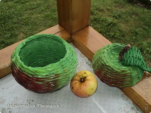 Вчера был Яблочный Спас, вот и моё яблочко появилось. фото 3