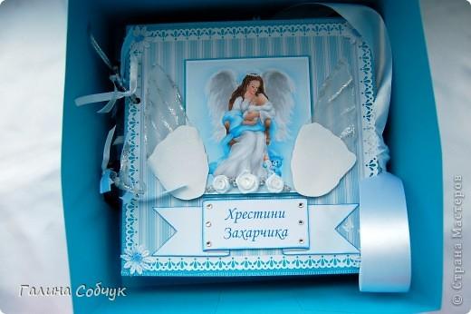 Данный альбом был сделан в двух экземплярах для крестного отца и крестной мамы Захарчика. фото 3